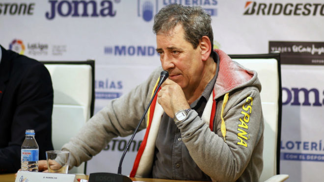 Ramón Cid, en rueda de prensa