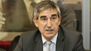 Jordi Bertomeu, director ejecutivo de la Euroliga, en una visita a...