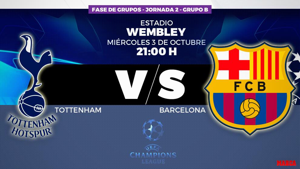 Tottenham Vs Barcelona El Mito De Wembley Contra Crisis Marca Com
