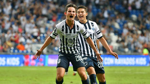 Daniel Lajud celebra su gol ante Zacatepec