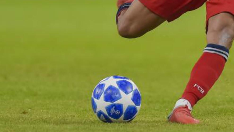 Liga de Campeones 2018 - 2019, imagen de la segunda jornada de la fase...