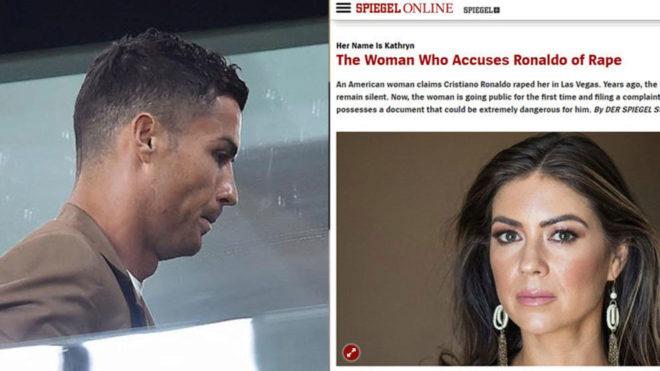 Cristiano Ronaldo ha sido acusado de violación por Kathryn Mayorga.