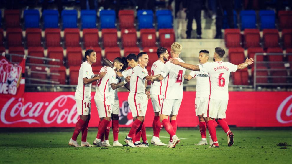 El Sevilla está en racha tras ganar sus últimos cuatro partidos...