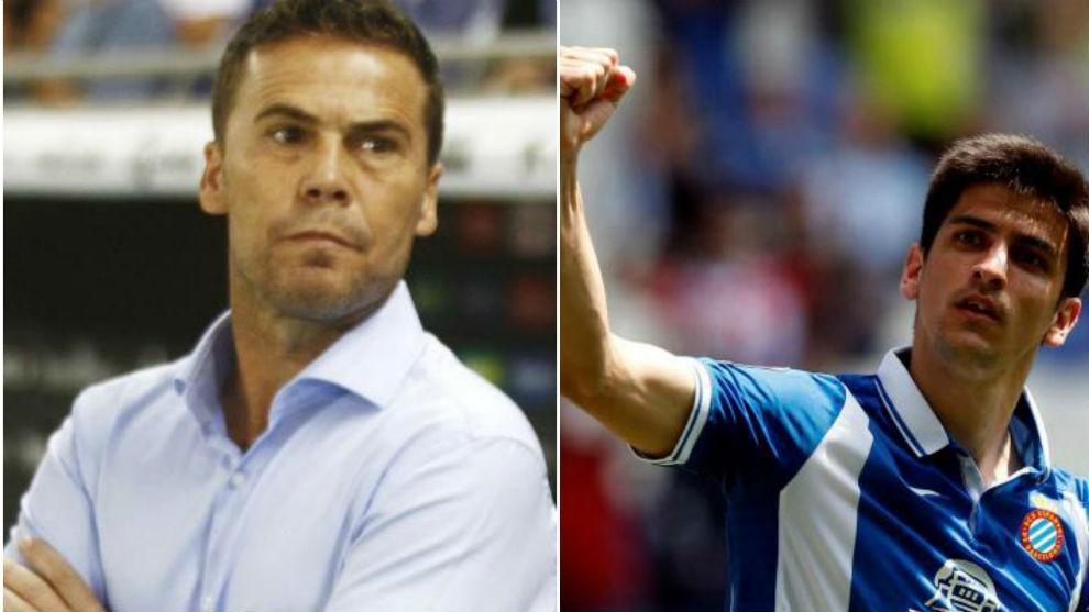 Rubi y Gerard Moreno.