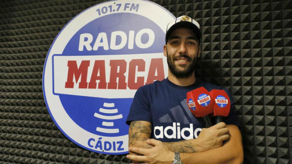 Perea, en los estudios de Radio MARCA Cádiz