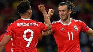 Gareth Bale con Gales.