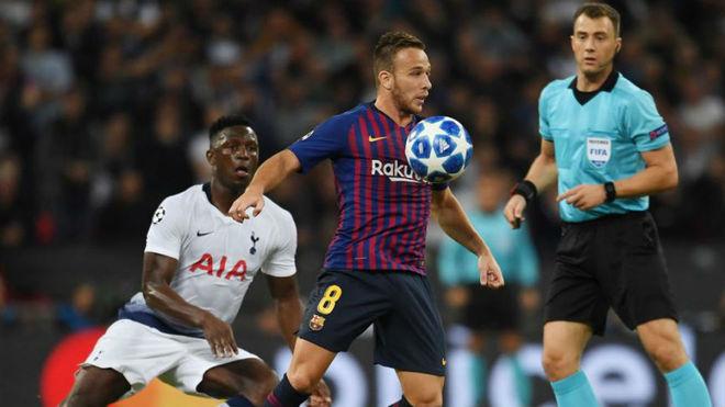 Arthur proves a perfect fit at Barcelona's midfield - MARCA.com