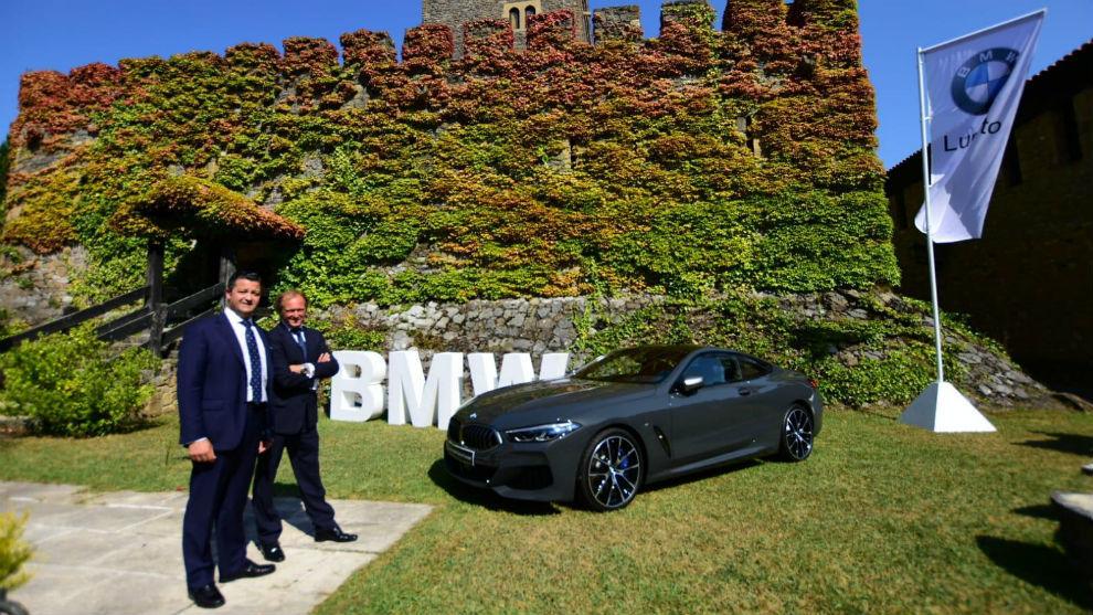 Luis Miguel García y Koldo Marcilla, en el High Motors
