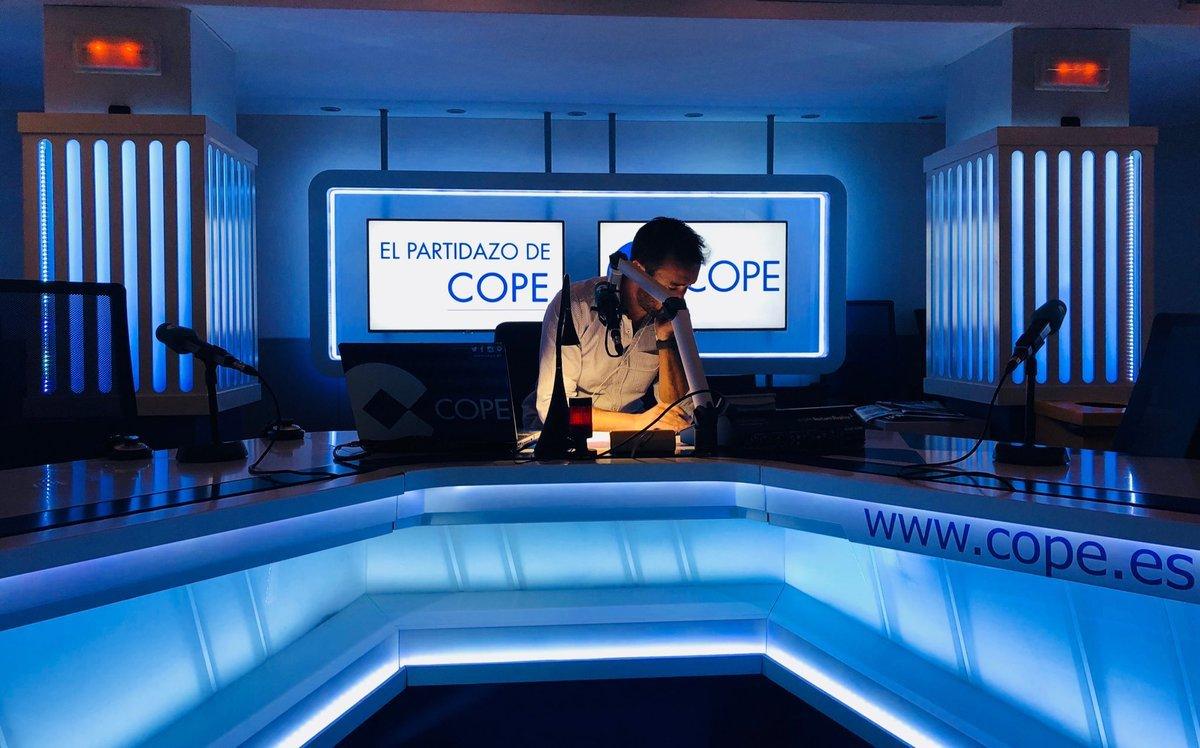 Juanma Castaño en El Partidazo de la Cadena COPE