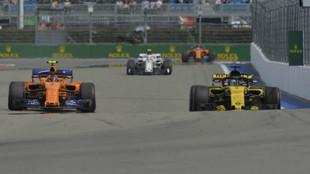 McLaren y Renault