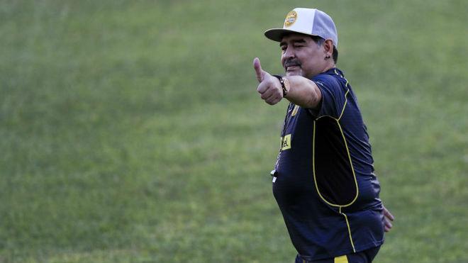 Novia de Maradona se sumará a Dorados de Sinaloa
