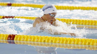 Jessica Vall, en el campeonato de España.
