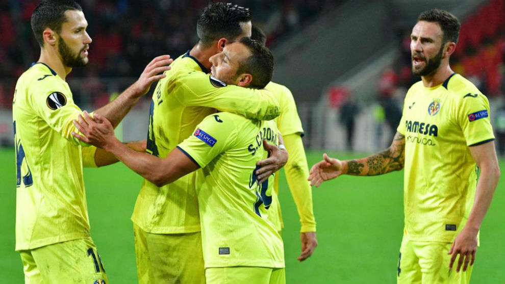 Cazorla converts stoppage time penalty to earn Villarreal a point
