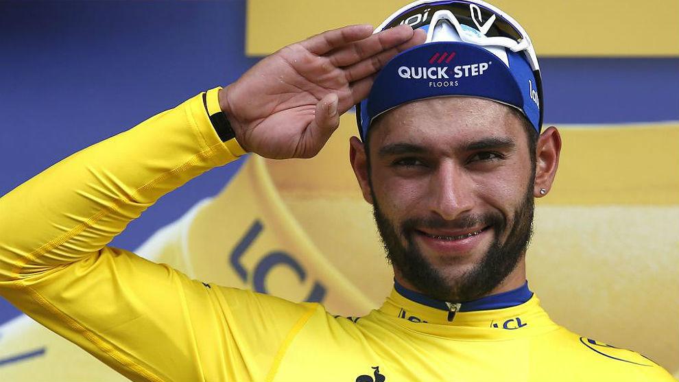 Fernando Gaviria ha sido líder del Tour de Francia en su primera...
