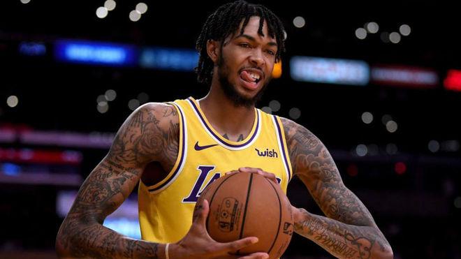 Brandon Ingram, una de las sensaciones de los Lakers en pretemporada