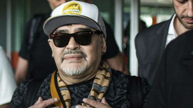 Argentina: Maradona and a forceful statement on the ...