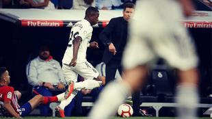 La falta de gol del Real Madrid puede hacer que Lopetegui le de más...