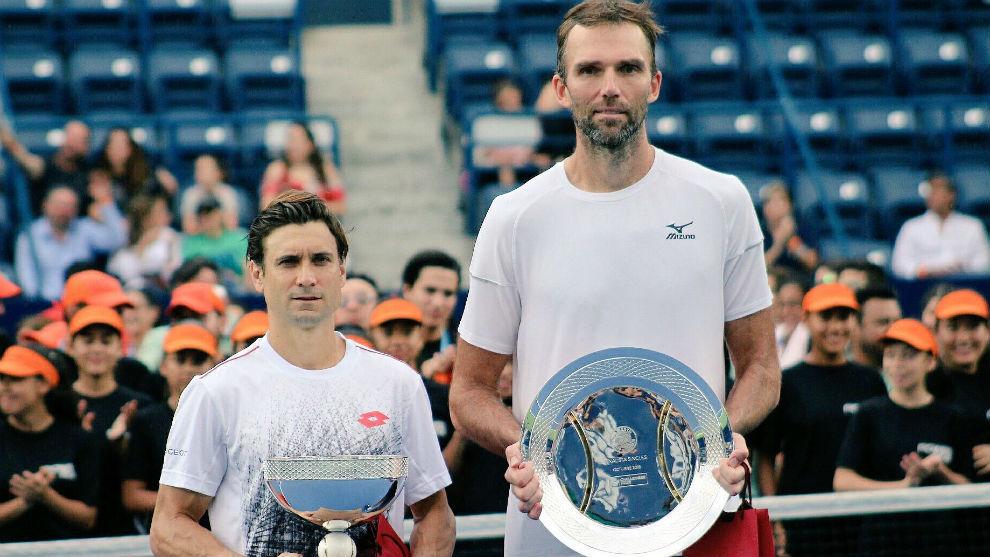 David Ferrer, Ganador del Abierto de Monterrey ante Ivo Karlovic