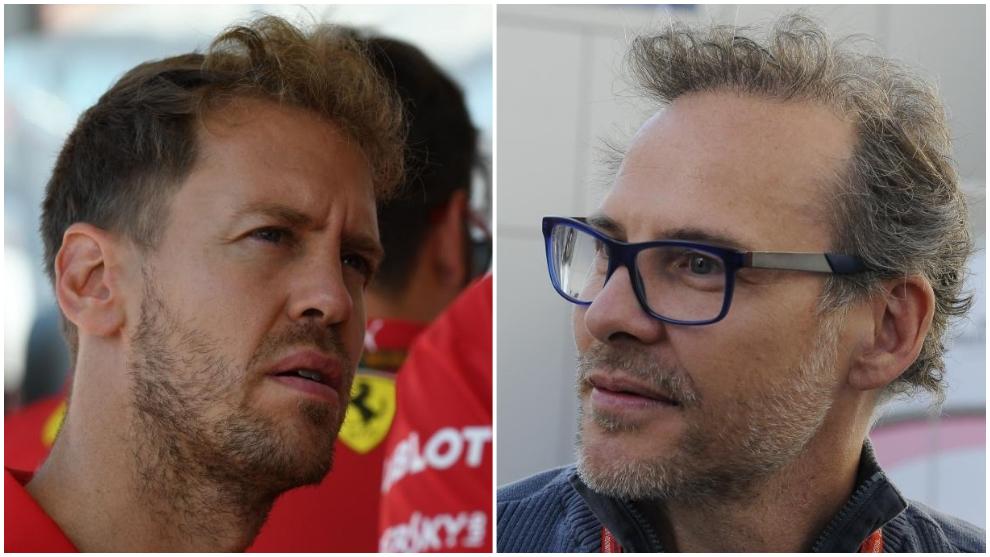 Sebastian Vettel y Sebastian Vettel