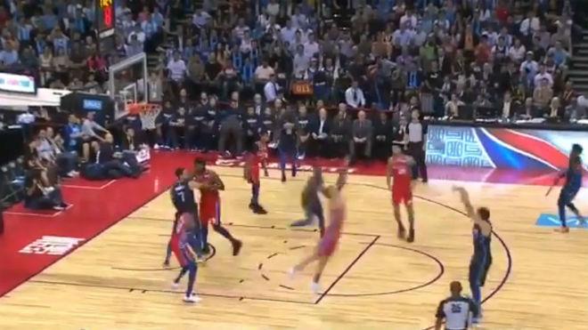 NBA: Luka Doncic Tira De Muñeca Ante Los Sixers: Tres
