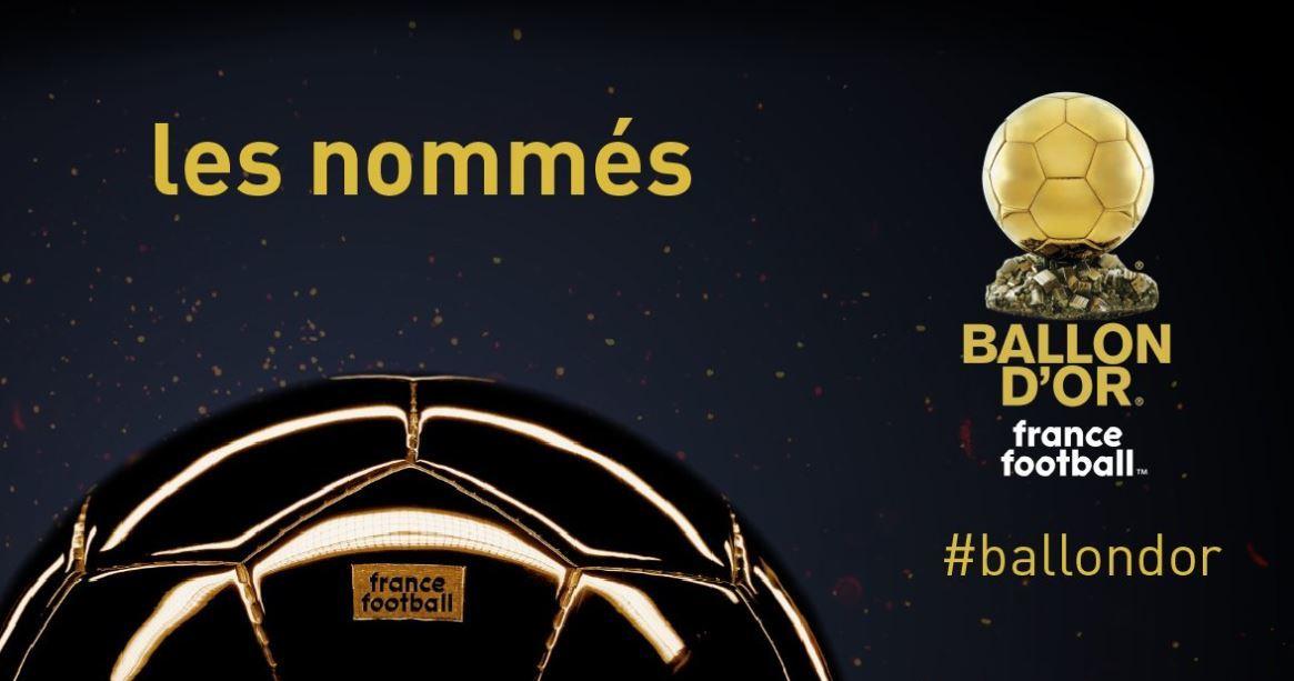 Balón De Oro 2018 La Lista Oficial De Los 30 Nominados Al