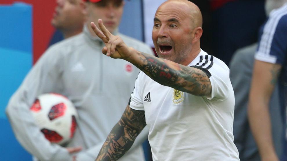 'Sampa', durante el pasado Mundial con Argentina.