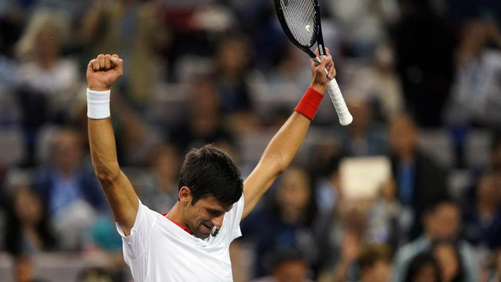 Djokovic destroza a Jeremy Chardy en Shanghái
