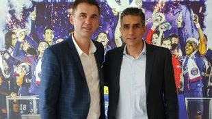 Raúl González y 'Jota' González, la pareja al frente del...
