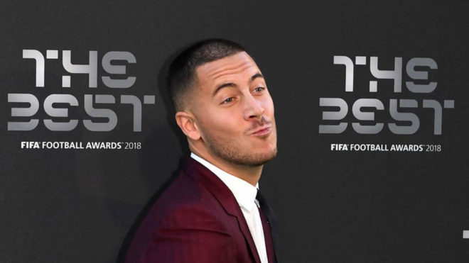 Hazard, durante la gala The Best