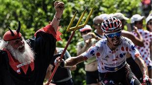 Julian Alaphilippe, en el Tour de Francia.