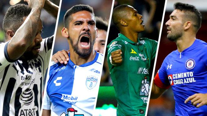 Los cuatro semifinalistas de la Copa MX.