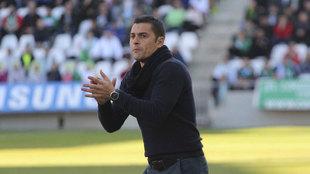 Francisco durante un partido con el UCAM Murcia.