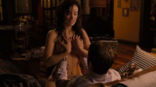 Olivia Wilde surprised Ryan Reynolds when taking off her top,...