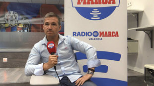Tito, durante su entrevista en Radio MARCA Valencia