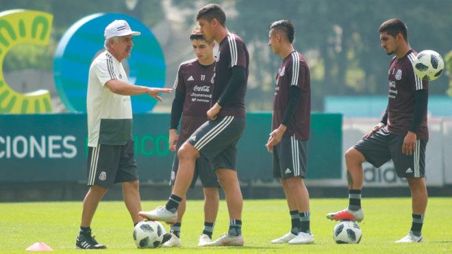 Ferretti mostrará una plantilla joven ante Costa Rica y Chile.