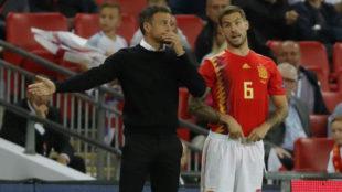 Luis Enrique explains the 'strange' incident with Inigo Martinez: He decided to risk it