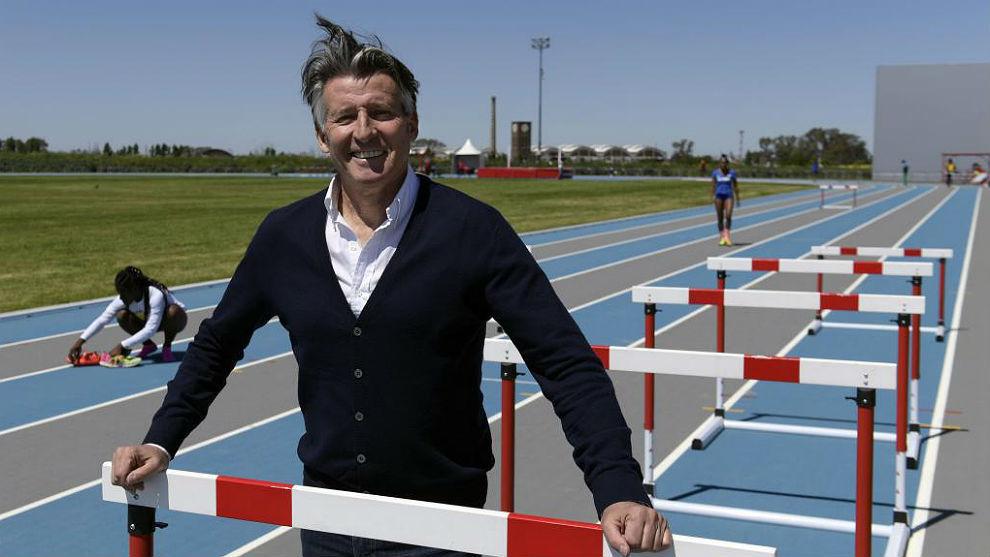 Sebastian Coe, estos días en Buenos Aires, en los Juegos de la...