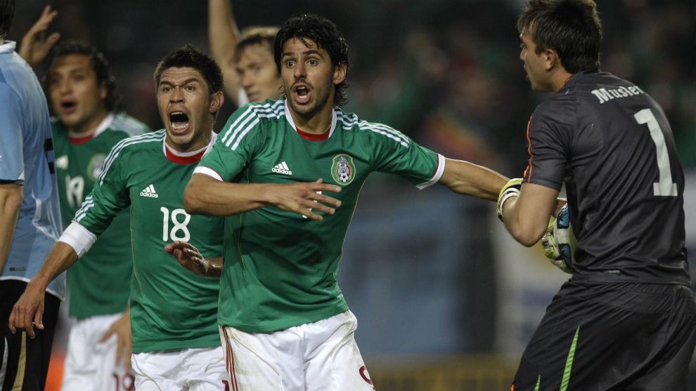 El último partido que México jugó en Argentina terminó con derrota...