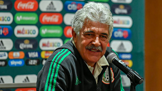Ricardo Ferretti habló en conferencia de prensa.