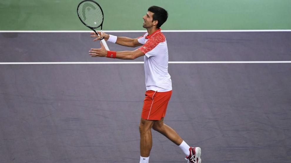 Djokovic manda amor a la grada de Shangái