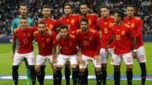La alineación que conquistó Wembley el pasado septiembre.