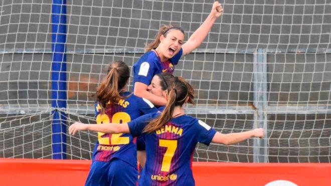 El Barça inscribe a su alevín femenino en la liga masculina