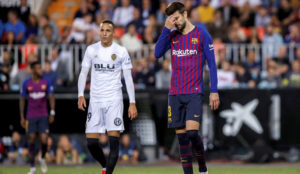 Chants about Pique and Shakira at Mestalla have been reported