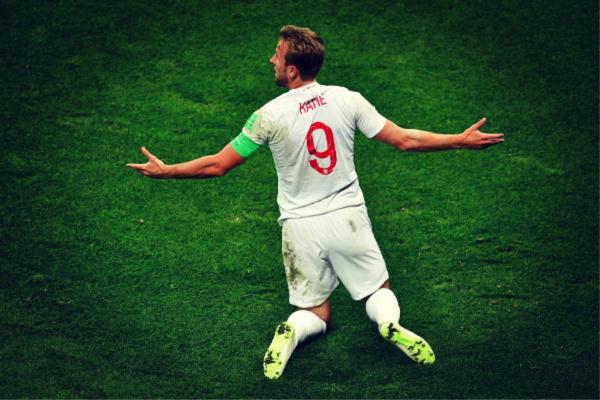 Kane es el encargado de llevar los goles para Inglaterra.