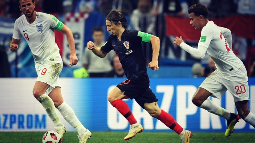 Modric es el líder de Croacia y el jugador del momento en el fútbol...
