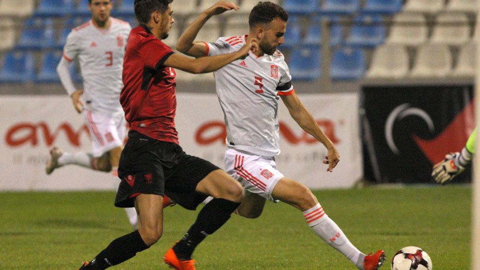 Albania sub 21 0-1 España sub 21