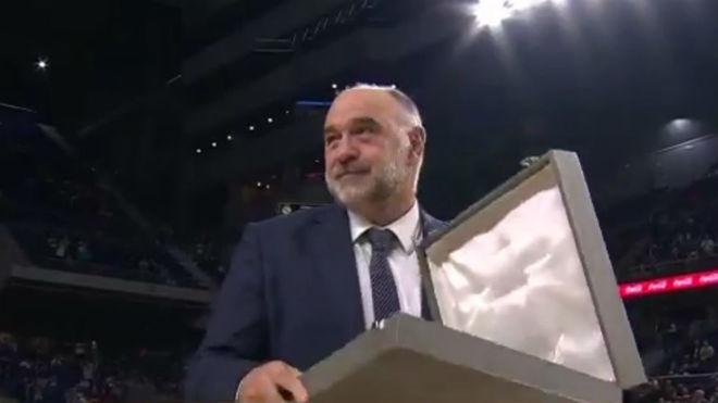 La Euroliga corona a Pablo Laso como el mejor entrenador