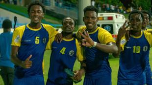 Futbolistas de la selección de Santa Lucía