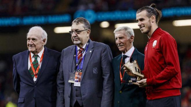 Bale no jugó... pero se llevó una Bota de Oro