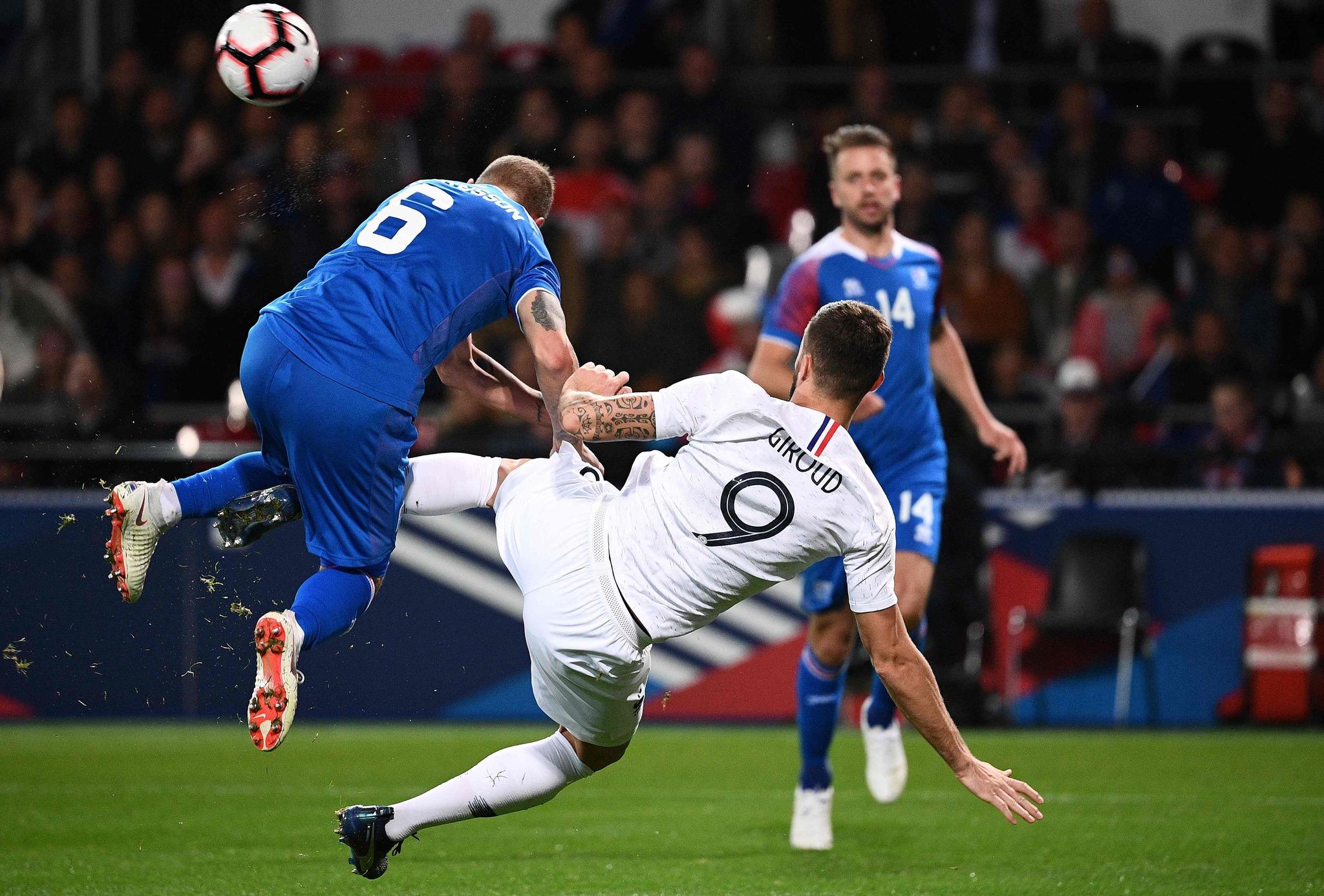 Islandia se deja empatar por Francia en cinco minutos: el efecto ...